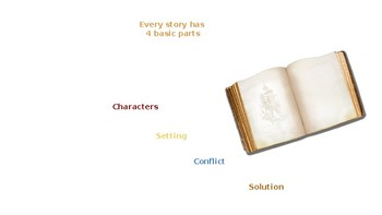 STORY ELEMENTS MINI LESSON AND GUIDED READING CENTER