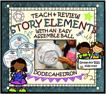 STORY ELEMENTS: 'NARRATIVE FRAME'  DODECAHEDRON BALL