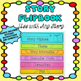 STORY FLIPBOOK FOR ANY STORY WITH RUBRIC, CHARACTER TRAITS, THEME, AND PLOT