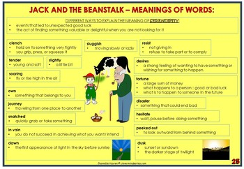 STORY - JACK AND THE BEANSTALK by JEANETTE VUUREN