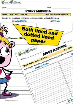 STORY MAP PRINTABLE FOR ANY BOOK (FREE GRAPHIC ORGANIZER)