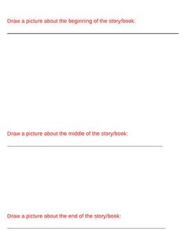 Story Summary Sheet
