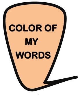 COLOR OF MY WORDS ( LYNN JOSEPH) Reading Comprehension Qui