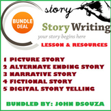 STORY WRITING LESSON AND RESOURCES BUNDLE