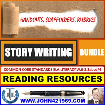 STORY WRITING HANDOUTS BUNDLE