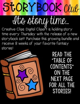 Storybook Bundle 2 {Creative Clips Digital Clipart}