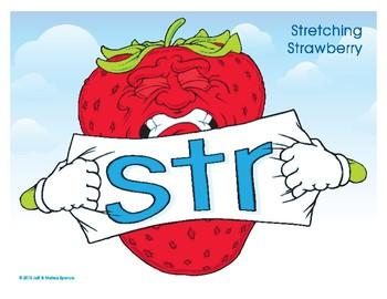 STR (Stretching Strawberry) Blend Buddy Poster