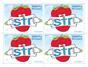 STR (Stretching Strawberry) Blend Buddy Card