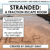 STRANDED: A Fraction Escape Room | escape activity best-su