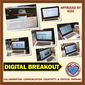 STRANDED: Digital Breakout about Geometric Sequences