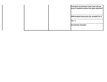 STRATEGIC LESSON PLAN TEMPLATE  BEST ONE YET!!