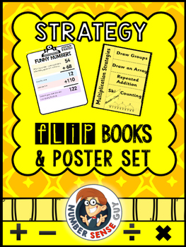 STRATEGY FLIP BOOKS AND POSTERS (ALL FOUR OPERATIONS)