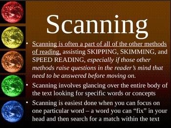 STRATEGY_Skim, Skip, Scan, and Speed Reading Skills Pt2