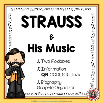 Music Listening: Music Composer STRAUSS: Interactive Listening Journal Foldables
