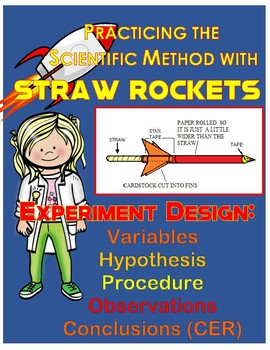 STRAW ROCKETS: Experiment Design Practice Astronomy Activity