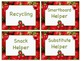 STRAWBERRY Job Chart Cards/Signs - Great for Classroom Management! BERRY CUTE!