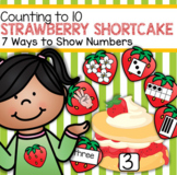 STRAWBERRY SHORTCAKE Counting to 10 - Seven Ways to Show Numbers