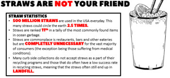 STRAWS ARE NOT YOUR FRIEND