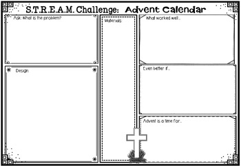 STREAM - STEM Meets Religion - 'Advent Calendar'