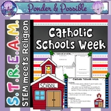 STEM Bible: Catholic Schools Week {STREAM & STEM Meets Religion}
