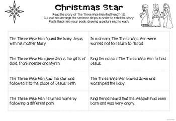STEM Bible - Christmas Star (STREAM - STEM Meets Religion)