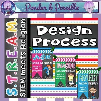 STREAM - STEM Meets Religion - 'Design Process Posters'