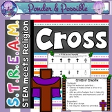 STREAM - STEM Meets Religion - 'Lent & Easter Cross' ~ Bib