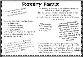STEM Bible: The Rosary {STREAM & STEM Meets Religion}