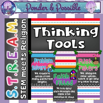 STREAM - STEM Meets Religion - 'Thinking Tools Posters'