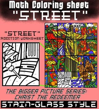 Street, Math addition - Bigger picture series (Redeemer)