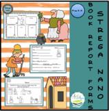 STREGA NONA BOOK REPORT FORMS