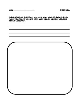 STREGA NONA by Tomie DePaola writing activity