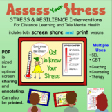 STRESS & RESILIENCE: Interventions for Distance Learning a