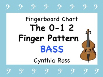 STRING BASS:  The 0-1 2 Finger Pattern