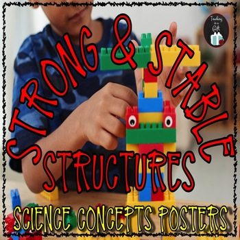 STRONG AND STABLE STRUCTURES Science Concepts Posters
