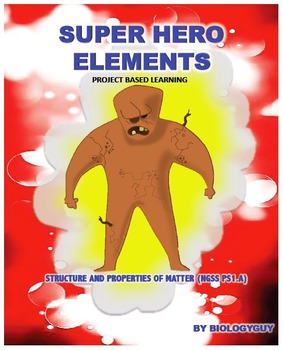 STRUCTURE AND PROPERTIES OF MATTER NGSS PS1.A: SUPER HERO ELEMENTS PROJECT