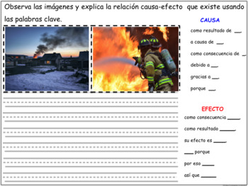 STRUCTURE CAUSE EFFECT FOR ANY BOOK SPANISH CAUSA EFECTO