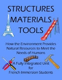 STRUCTURES, MATERIALS, TOOLS - A French Cross-Curricular Unit