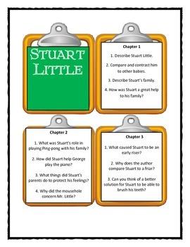 E.B. White STUART LITTLE - Discussion Cards