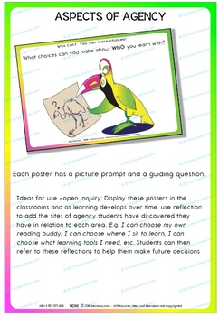 STUDENT AGENCY – Posters for class display