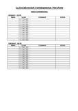 STUDENT BEHAVIOR RECORDING PACK - CLASSROOM & PLAYGROUND