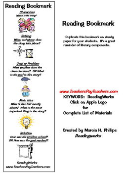 FREE ~ STUDENT BOOKMARKS