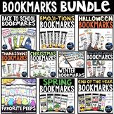 STUDENT BOOKMARKS BUNDLE