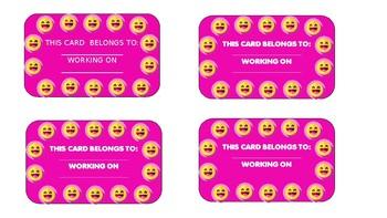 STUDENT CARD REWARDS  (BEHAVIOUR)