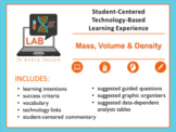 STUDENT-CENTERED LEARNING EXPERIENCE:  Mass, Volume & Density