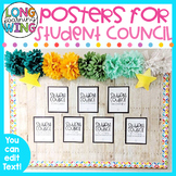 STUDENT COUNCIL BULLETIN BOARD POSTERS