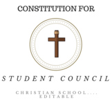 STUDENT COUNCIL Constitution (Christian School)