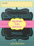 STUDENT DATA NOTEBOOK {4th Grade Math CCSS} *ALL 4th GRADE