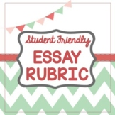 STUDENT FRIENDLY Essay Rubric Alligned to LEAP 2025 / PARCC / State Assessment