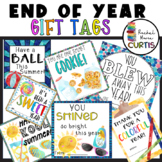 STUDENT GIFT TAG BUNDLE OF 7 TAGS, End of School Year Gift, Last Day of School